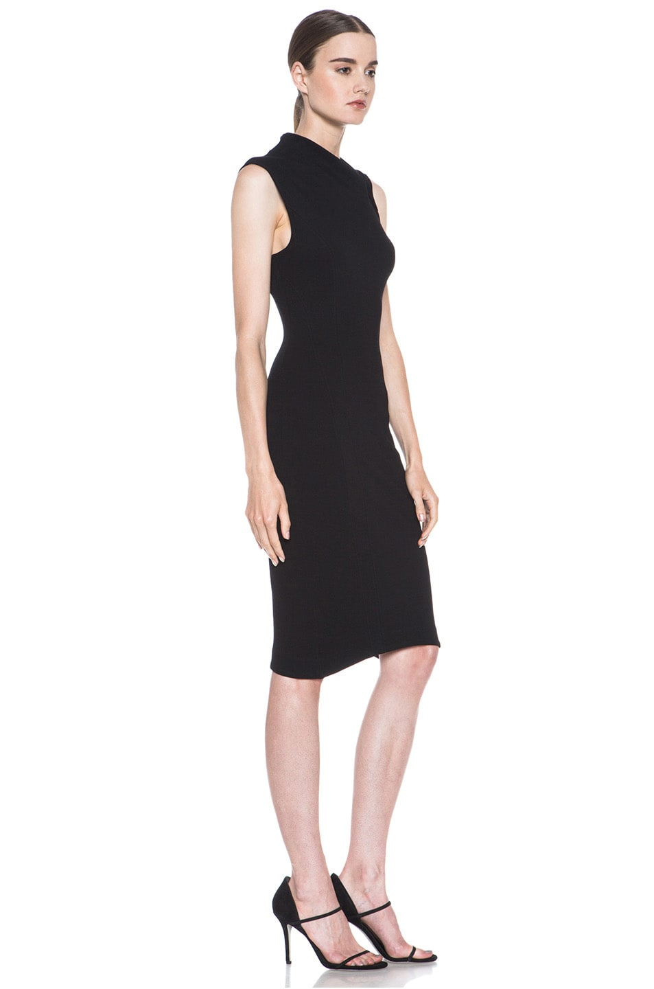 Image 3 of HELMUT Helmut Lang Gala Body Contusion Dress in Black