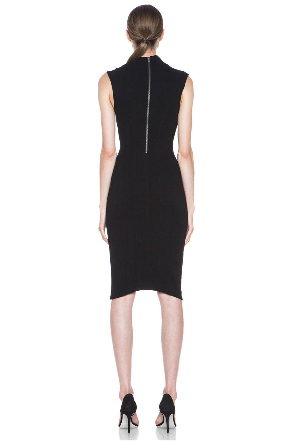Image 4 of HELMUT Helmut Lang Gala Body Contusion Dress in Black
