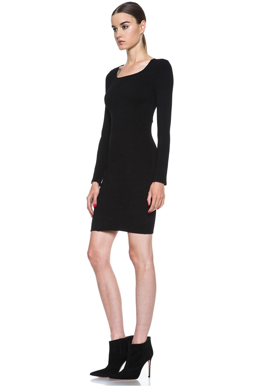 Image 2 of HELMUT Gala Knit Dress in Black