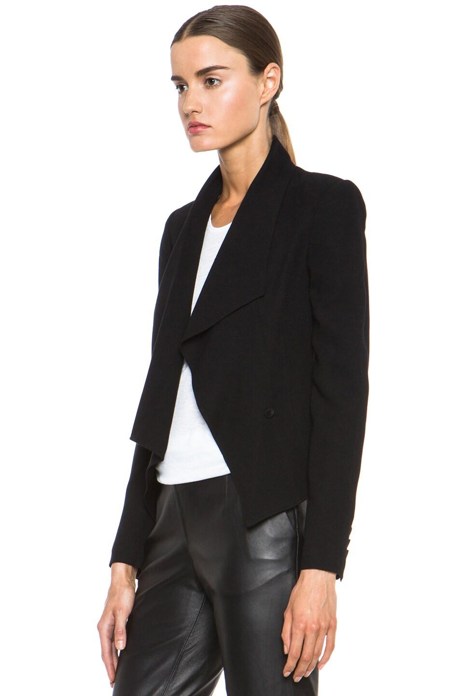 Image 3 of HELMUT Flash Drape Blazer in Black