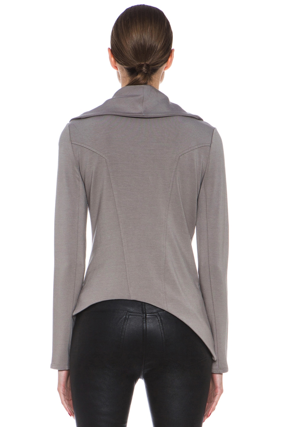 Image 5 of HELMUT Helmut Lang Villus Zip Up Sweatshirt in Wharf