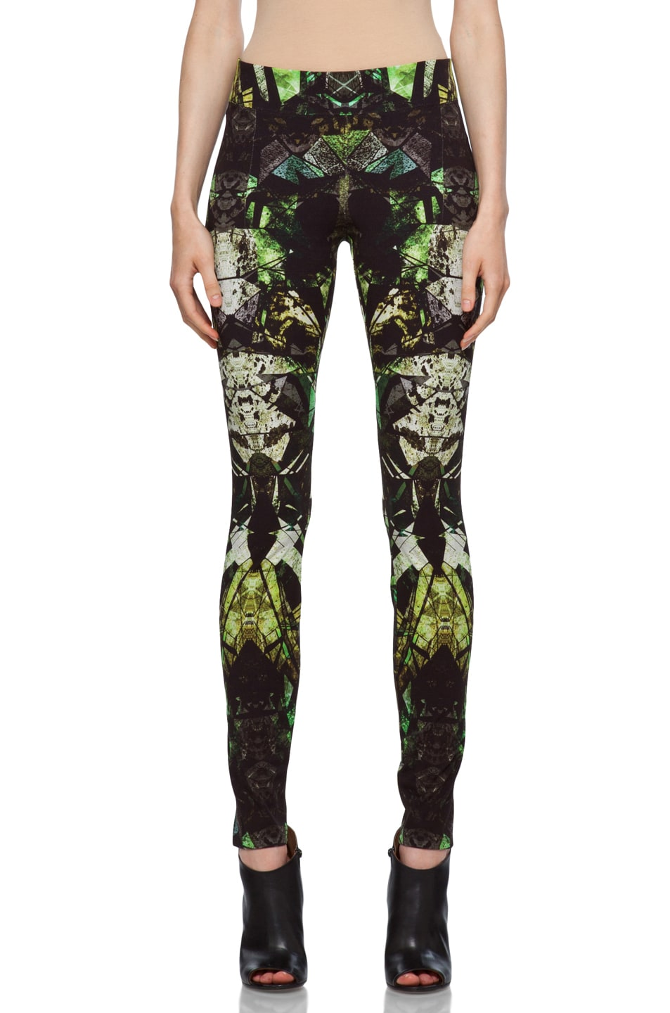 Image 1 of Helmut Lang Legging in Lizard Multi