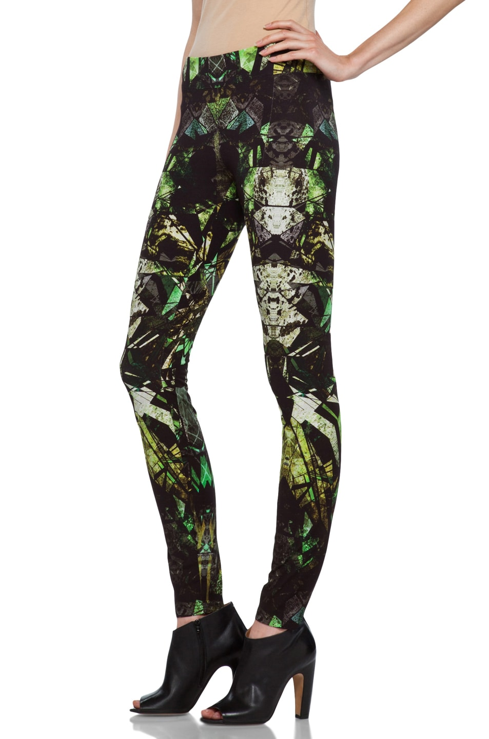 Image 2 of Helmut Lang Legging in Lizard Multi