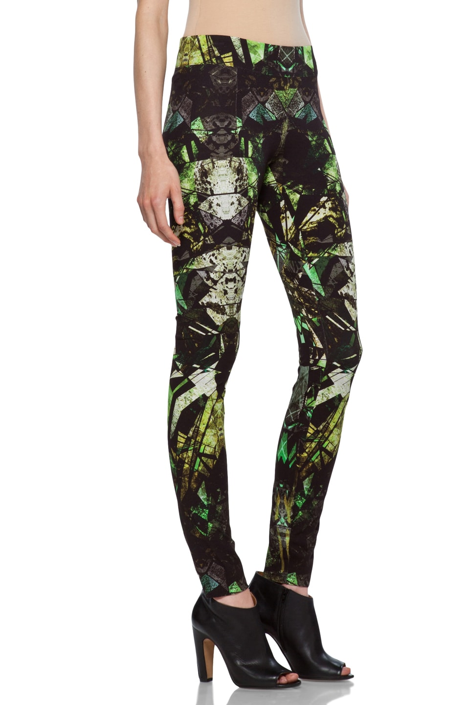 Image 3 of Helmut Lang Legging in Lizard Multi
