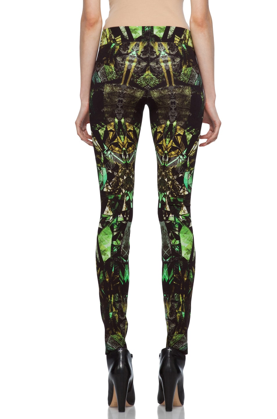 Image 4 of Helmut Lang Legging in Lizard Multi
