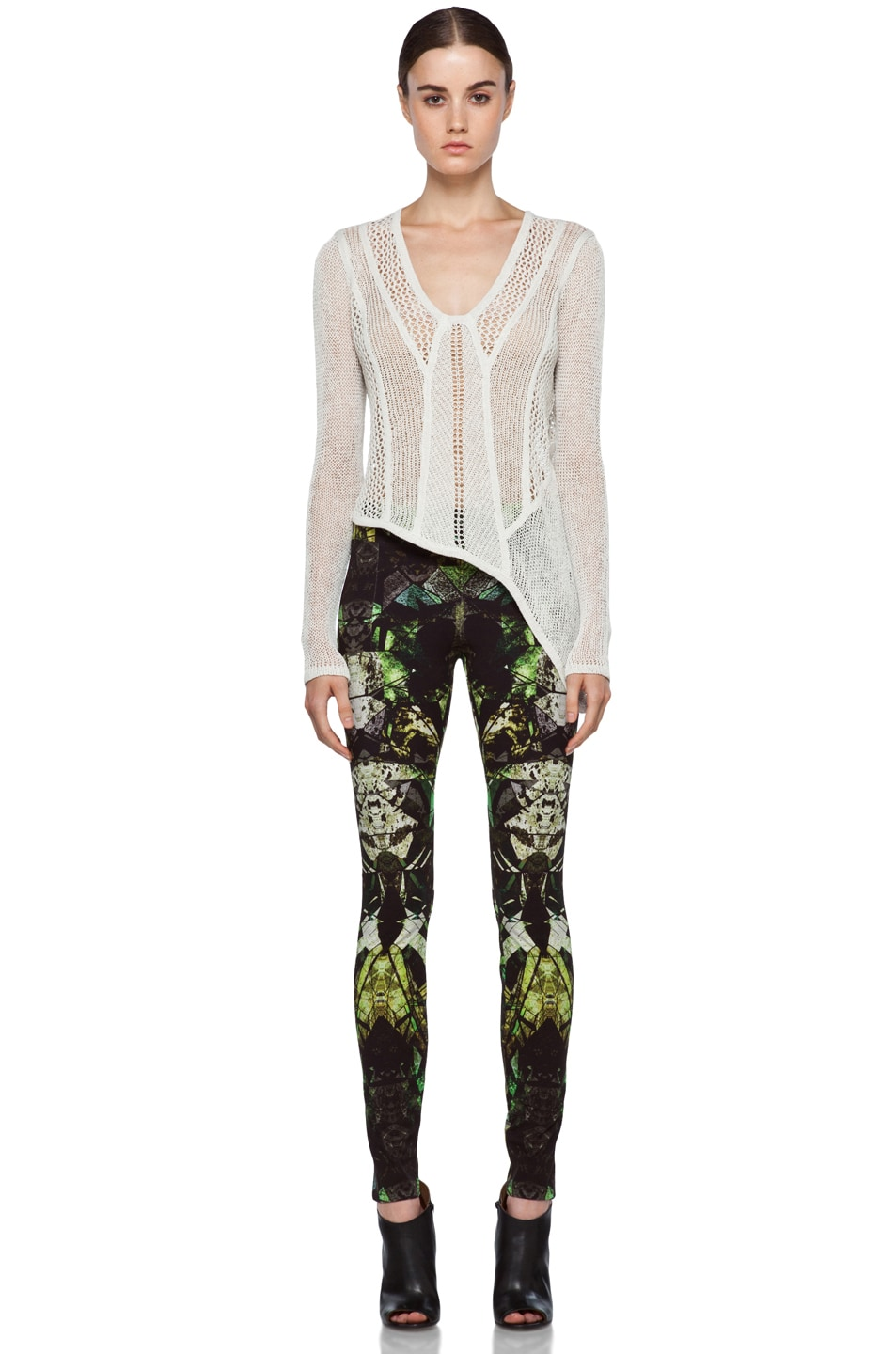Image 5 of Helmut Lang Legging in Lizard Multi