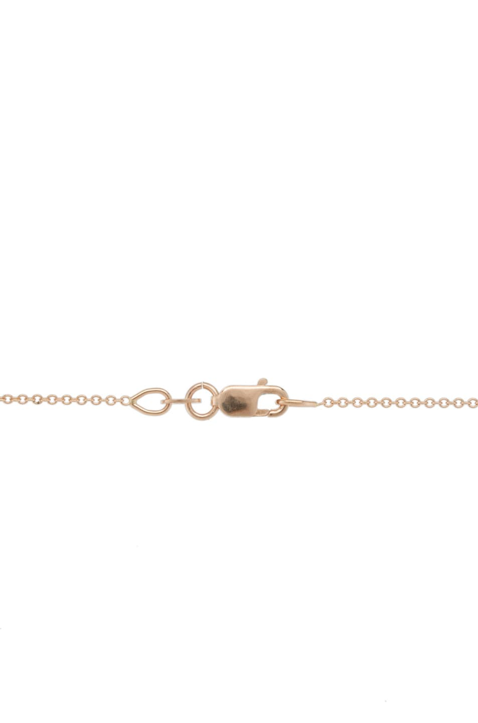 Image 3 of Ileana Makri Skull Pendant in Rose Gold