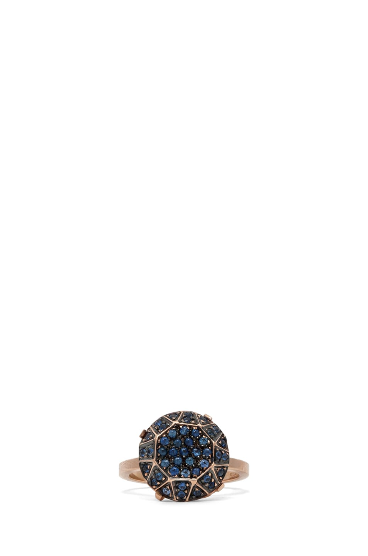 Image 1 of Ileana Makri Gem Ring in Rose Gold