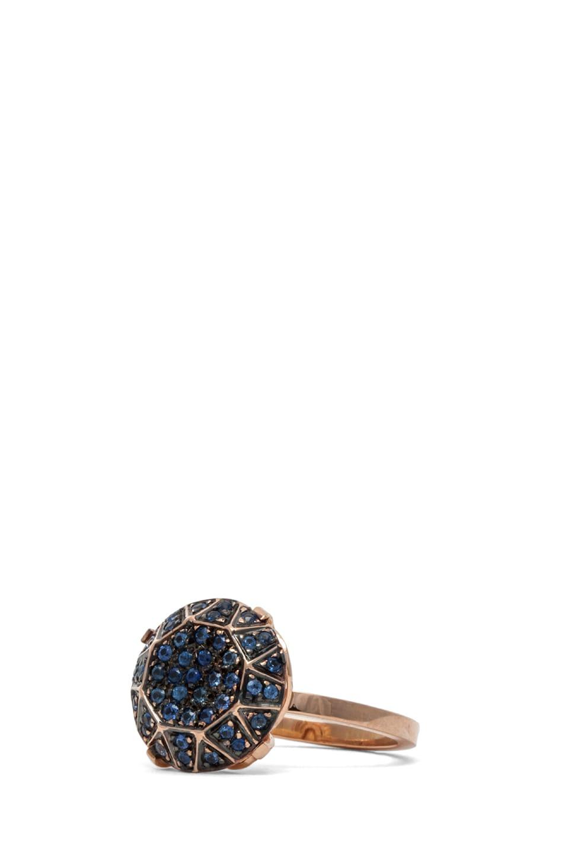 Image 2 of Ileana Makri Gem Ring in Rose Gold