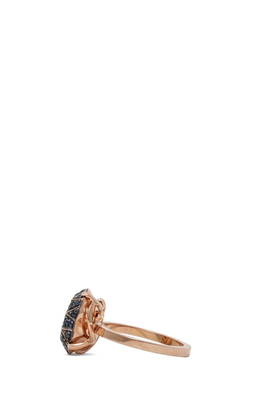 Image 3 of Ileana Makri Gem Ring in Rose Gold
