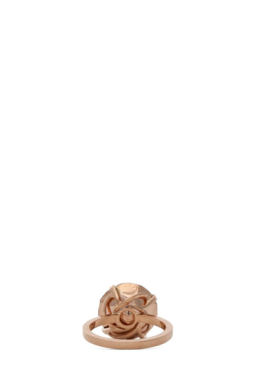 Image 4 of Ileana Makri Gem Ring in Rose Gold