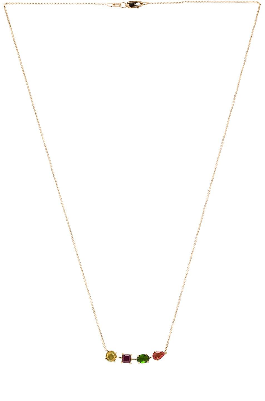 Image 3 of Ileana Makri Multi Shape Branch Necklace in Yellow Gold