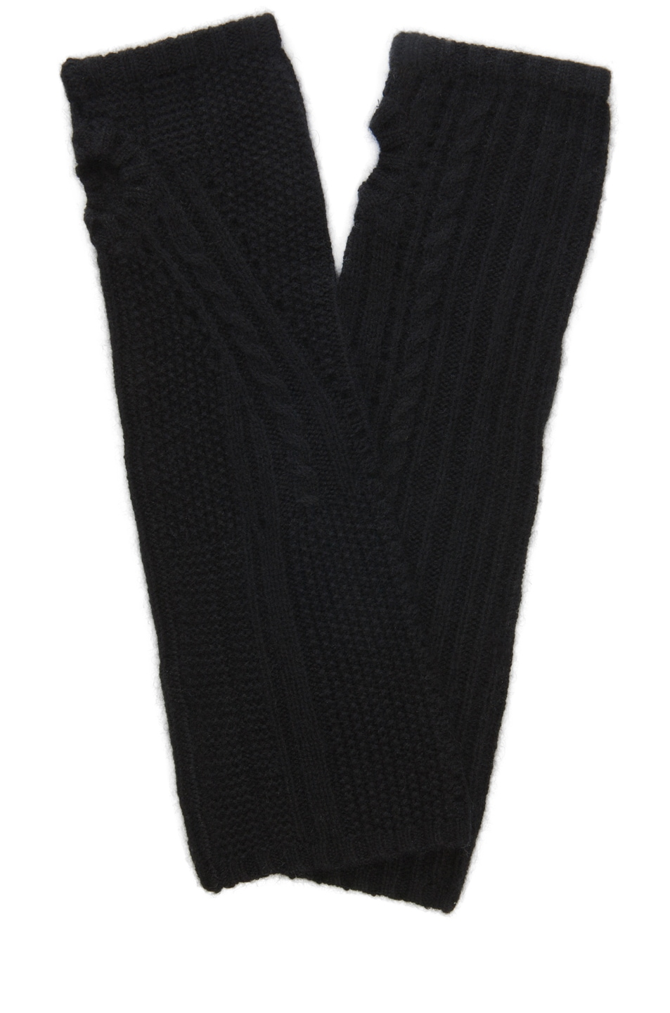 Image 1 of Inhabit Cable Arm Warmers in Black