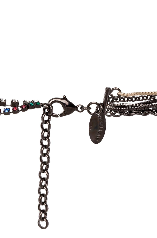 Image 2 of Iosselliani Long Multi Strand Necklace in Multi