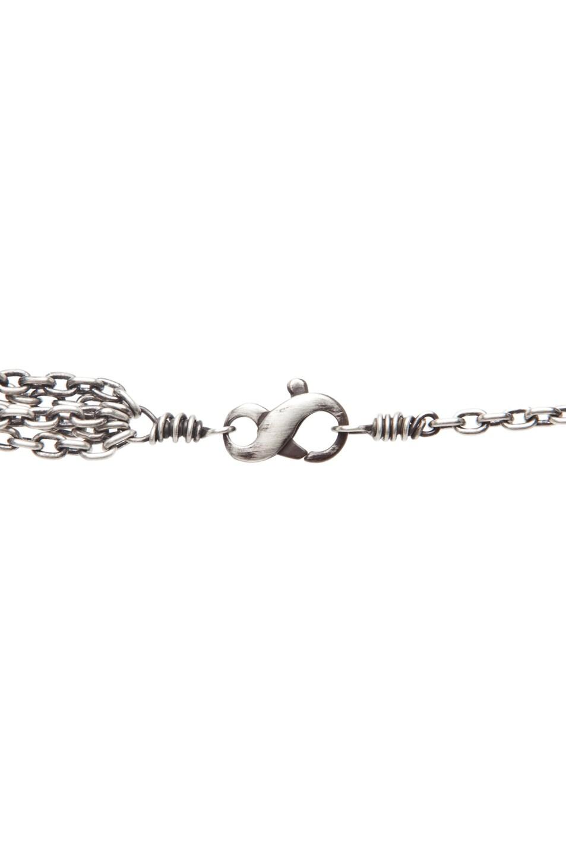 Image 3 of Irit Design Asymmetric Multi Chain Diamond Necklace in Silver
