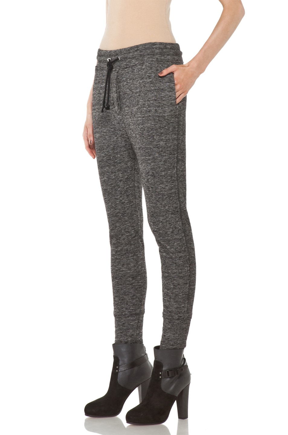 Image 2 of IRO Abia Pant in Anthracite