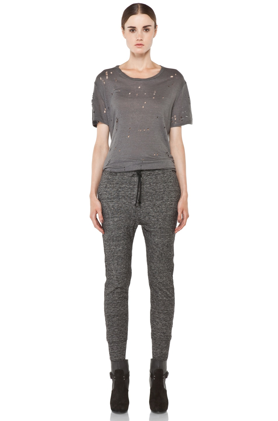 Image 5 of IRO Abia Pant in Anthracite