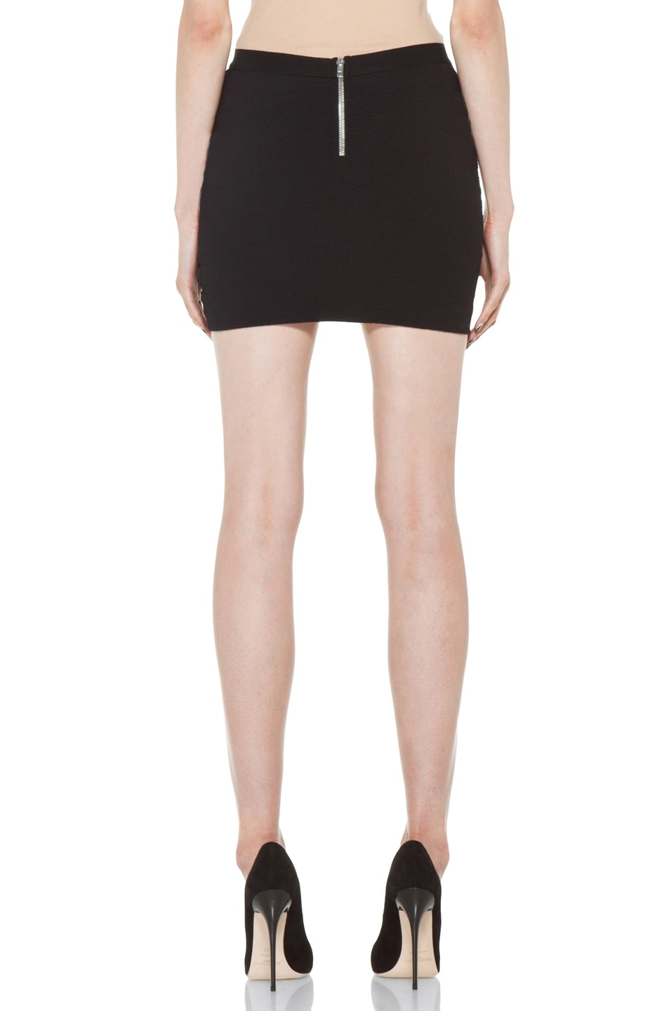 Image 4 of IRO Muse Skirt in Black