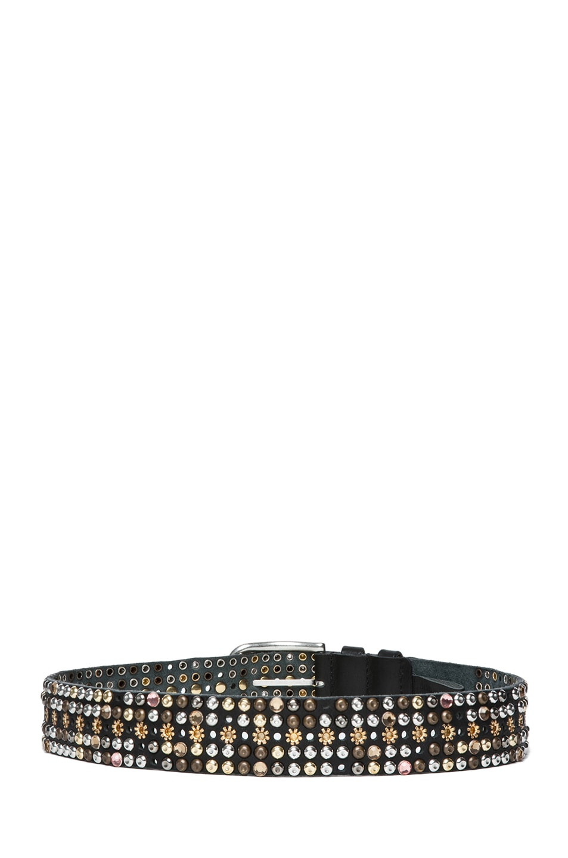 Image 3 of Isabel Marant Cecile Elvis Belt in Black
