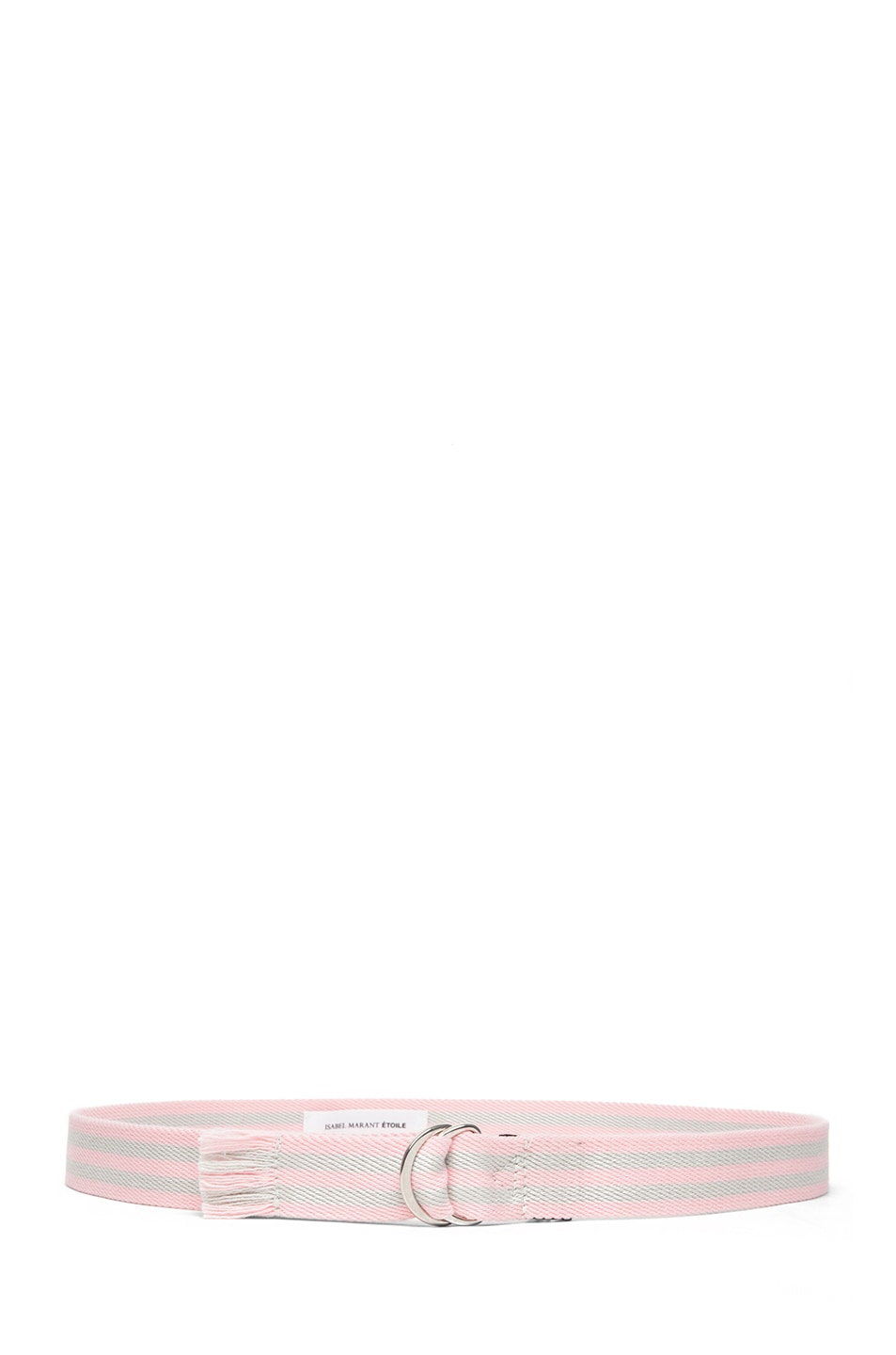 Image 2 of Isabel Marant Cadwell Stripe Belt in Rose