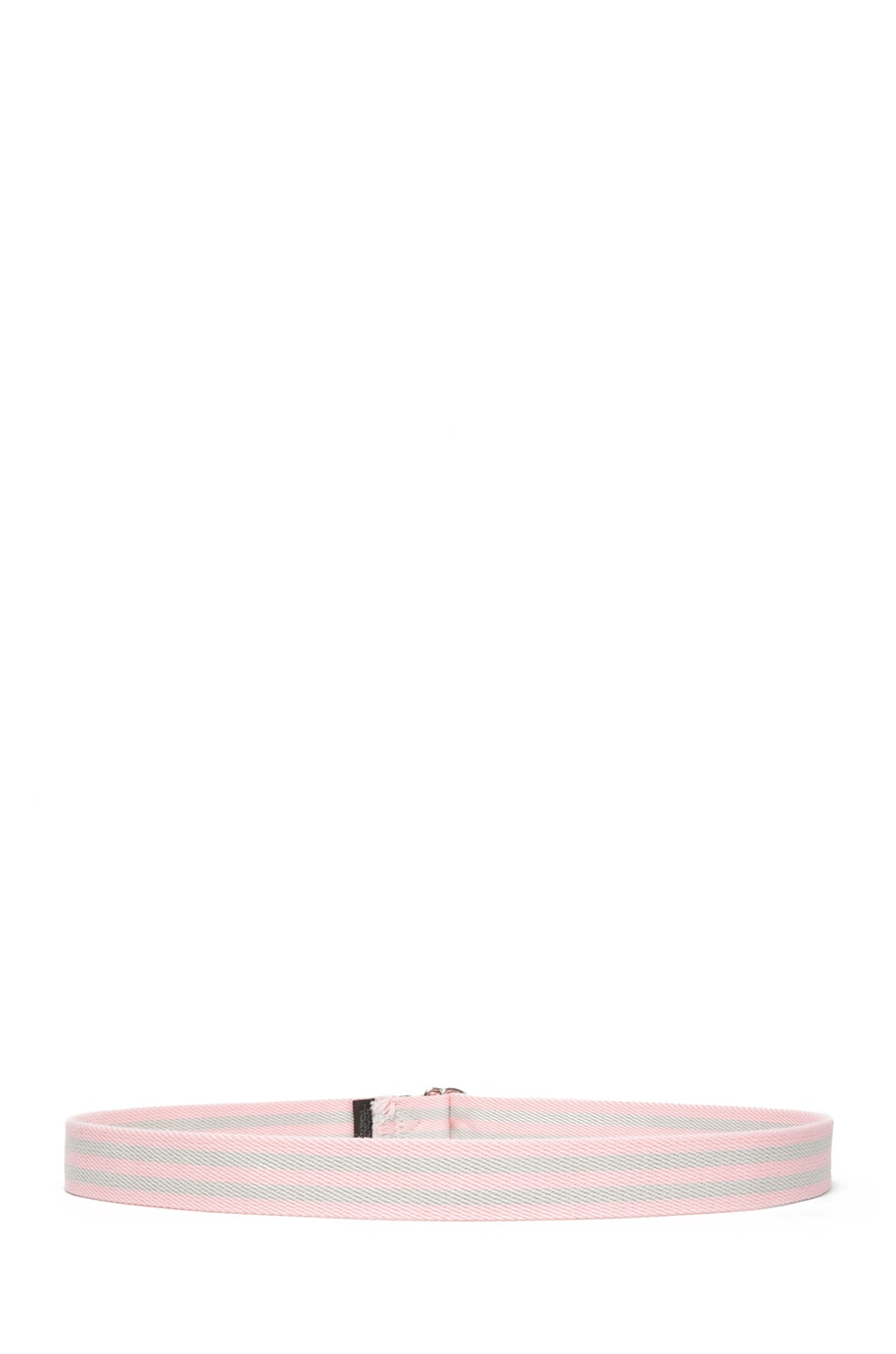 Image 3 of Isabel Marant Cadwell Stripe Belt in Rose