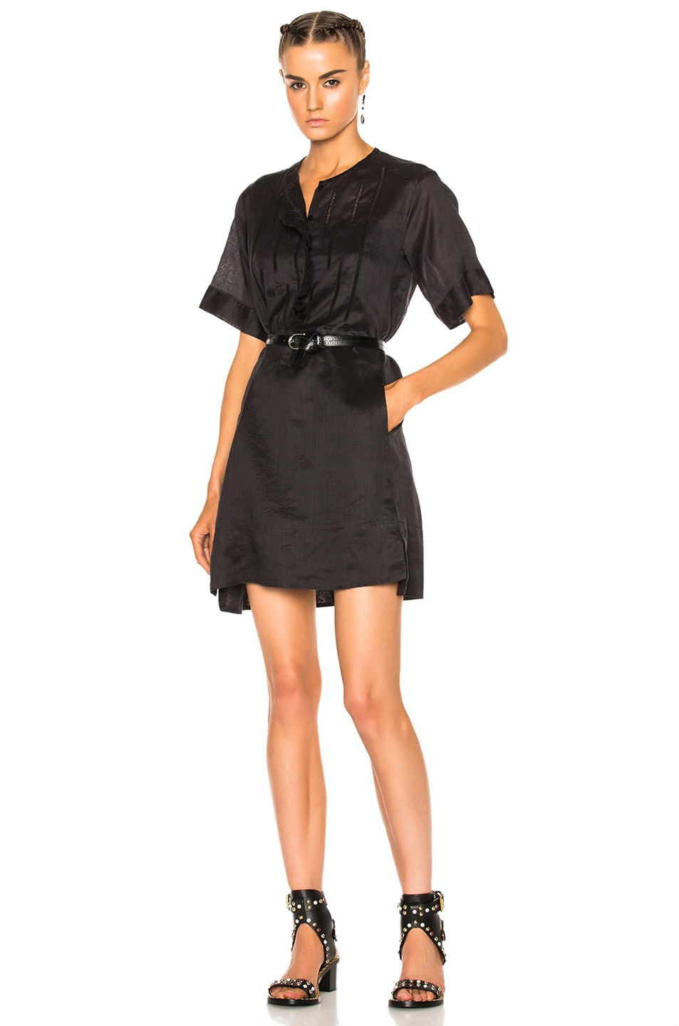Image 1 of Isabel Marant Ariana Dress in Black