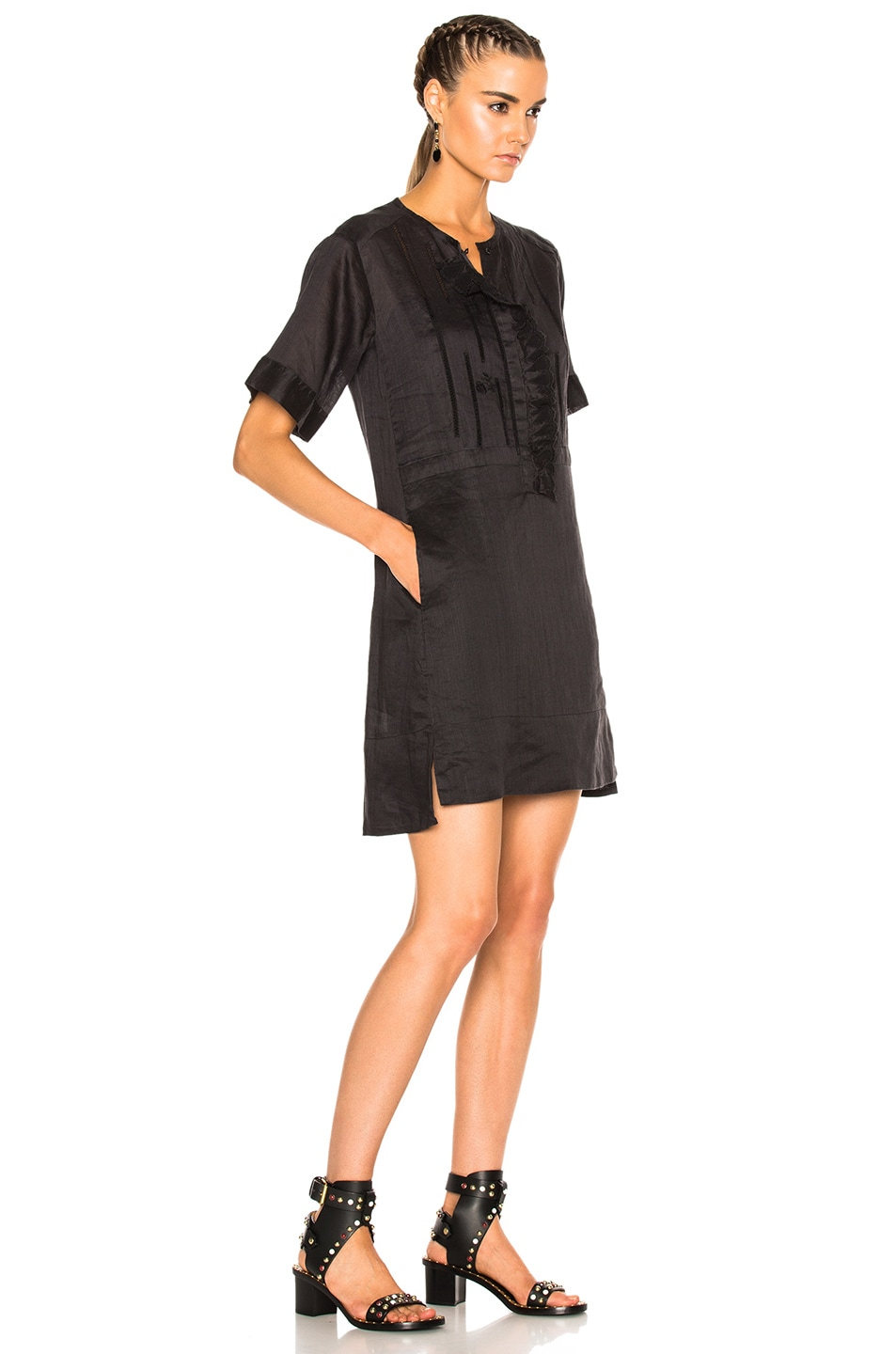 Image 3 of Isabel Marant Ariana Dress in Black