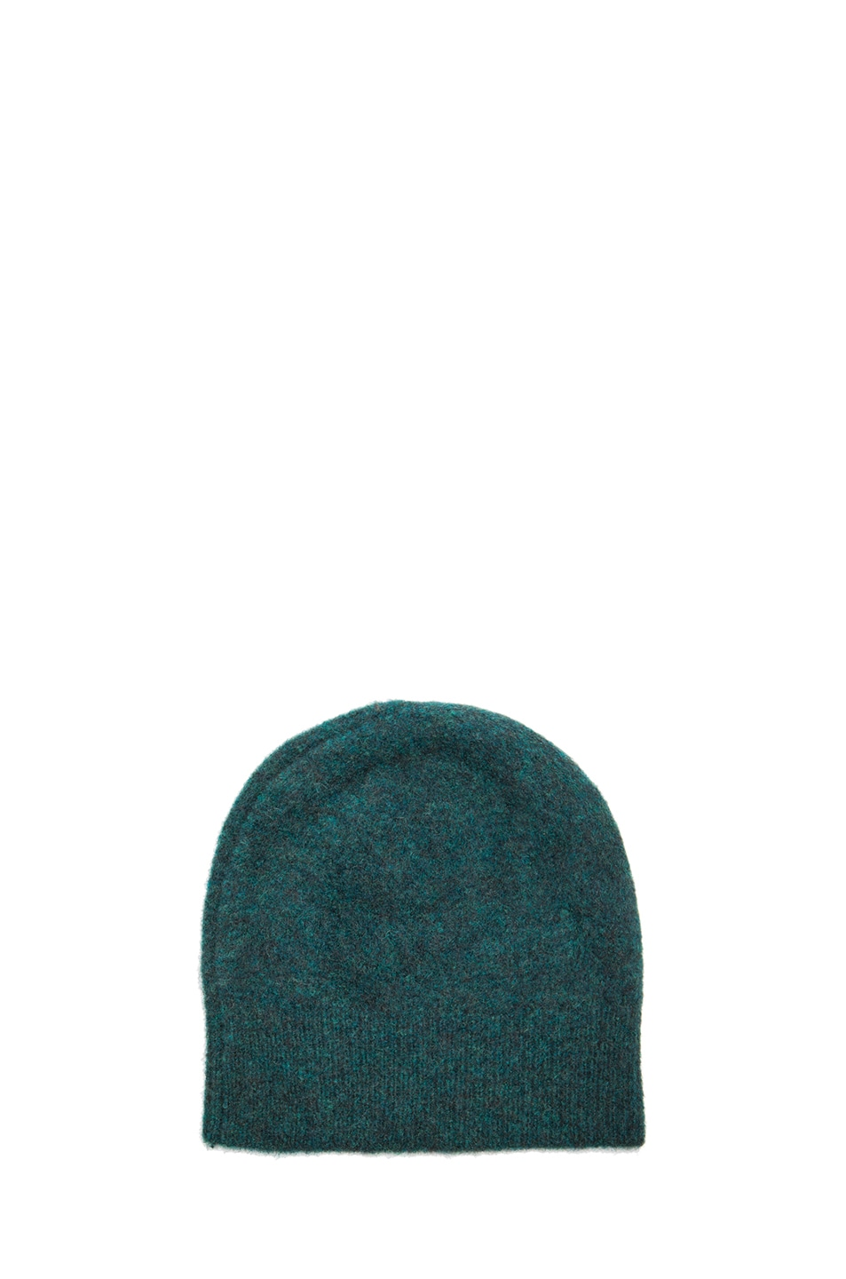 Image 2 of Isabel Marant Agathe Beanie in Bottle Green