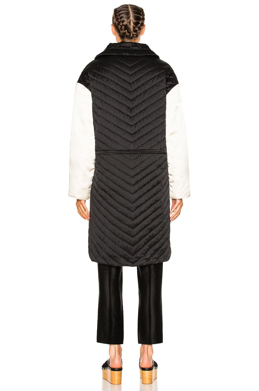 Image 5 of Isabel Marant Howell Silk Padded Jacket in Black