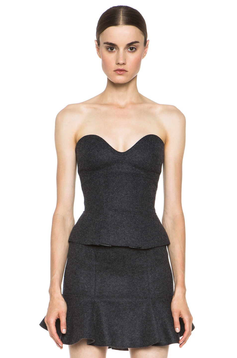 Image 1 of Isabel Marant Finless Top in Anthracite