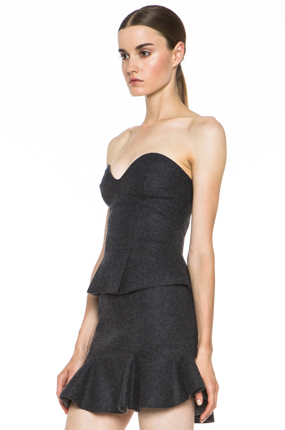 Image 2 of Isabel Marant Finless Top in Anthracite