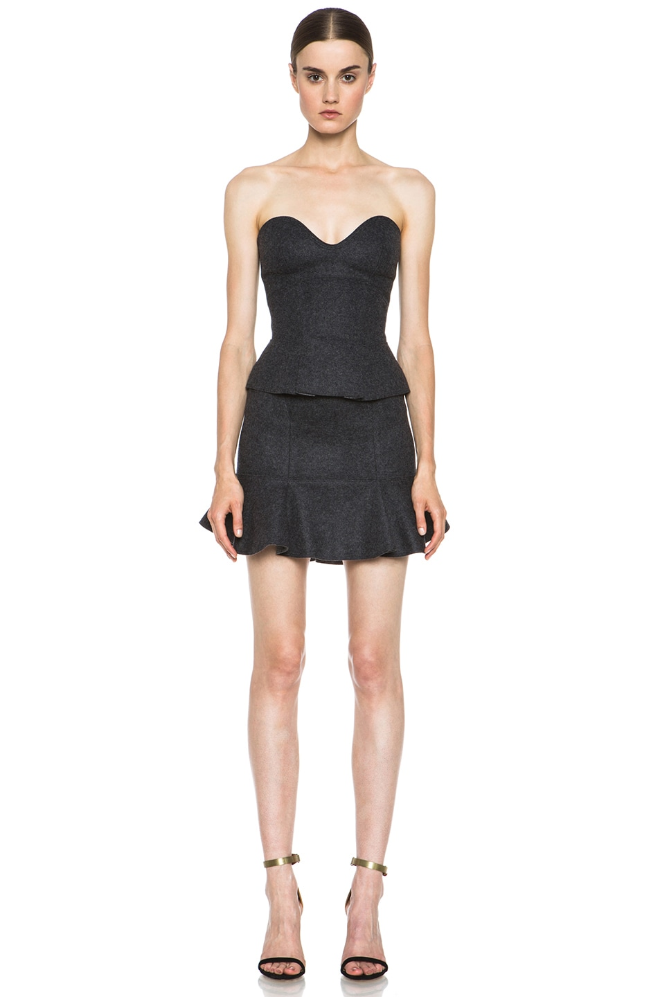 Image 5 of Isabel Marant Finless Top in Anthracite