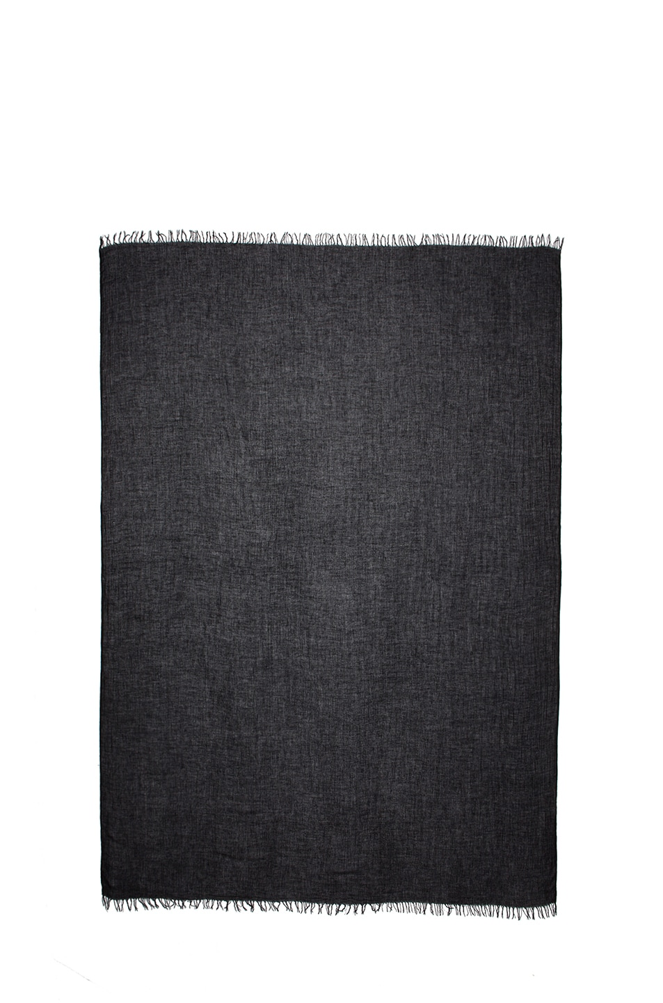 Image 2 of Isabel Marant Ghazo Viscose & Cashmere Scarf in Black