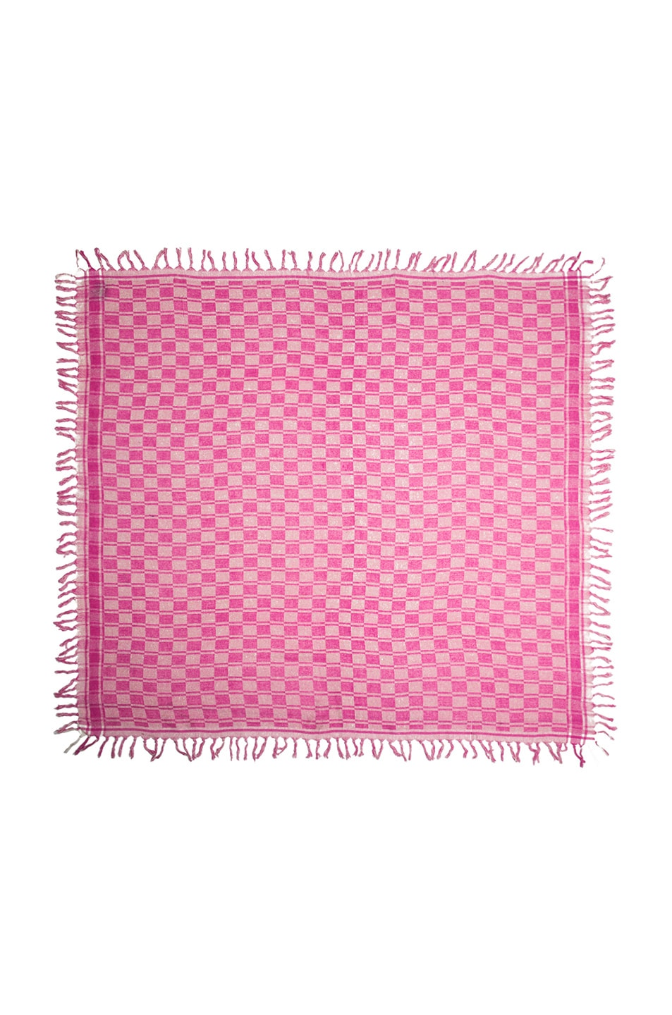 Image 2 of Isabel Marant Tasma Silk Scarf in Fuchsia