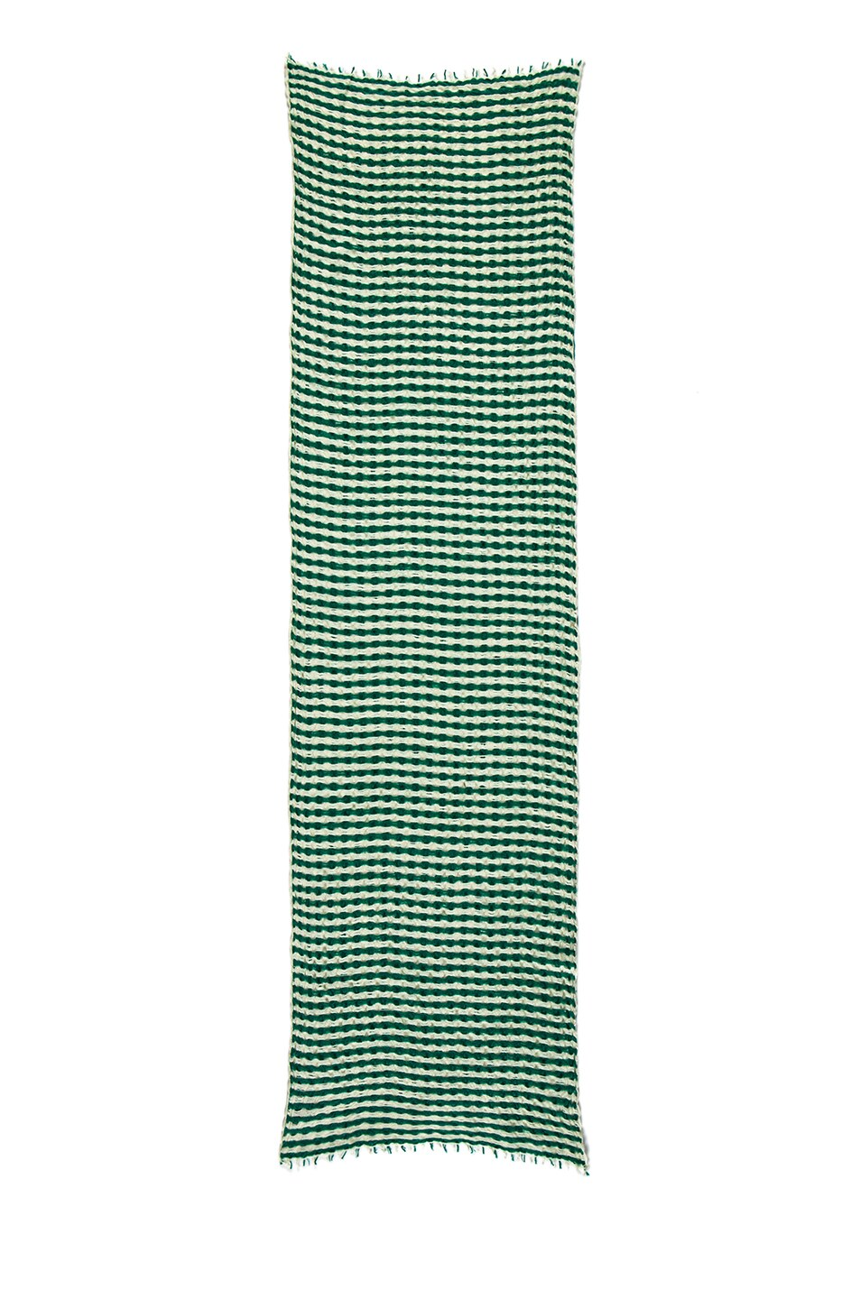 Image 2 of Isabel Marant Brunella Cashmere Scarf in Emerald