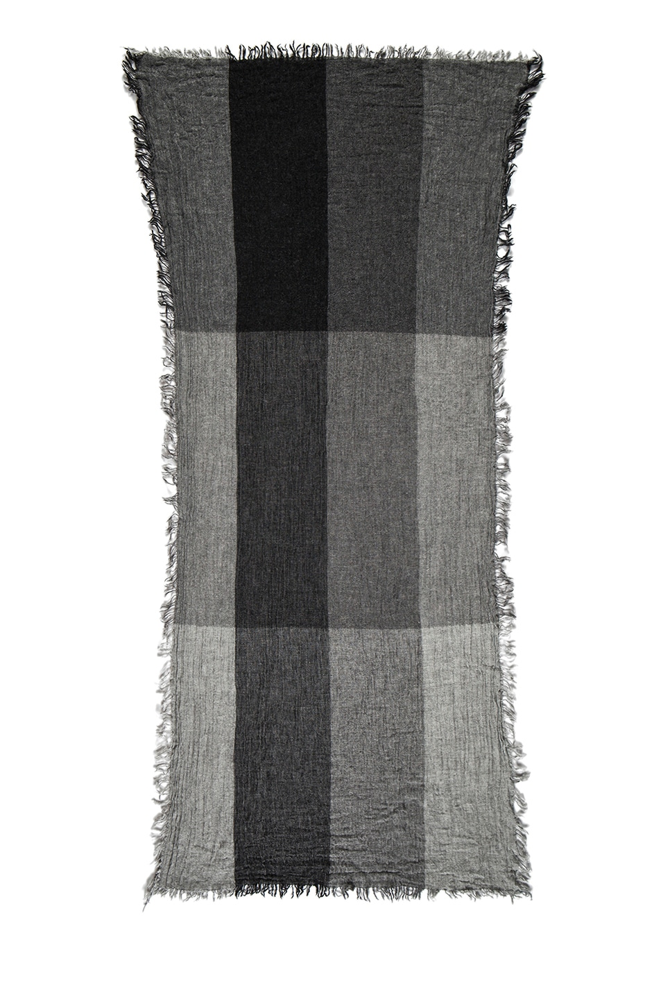 Image 2 of Isabel Marant Jaden Wooly Scarf in Grey