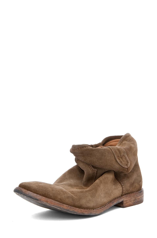 Image 2 of Isabel Marant Jenny Velvet Boot in Camel