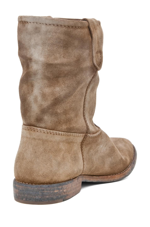 Image 3 of Isabel Marant Jenny Velvet Boot in Camel