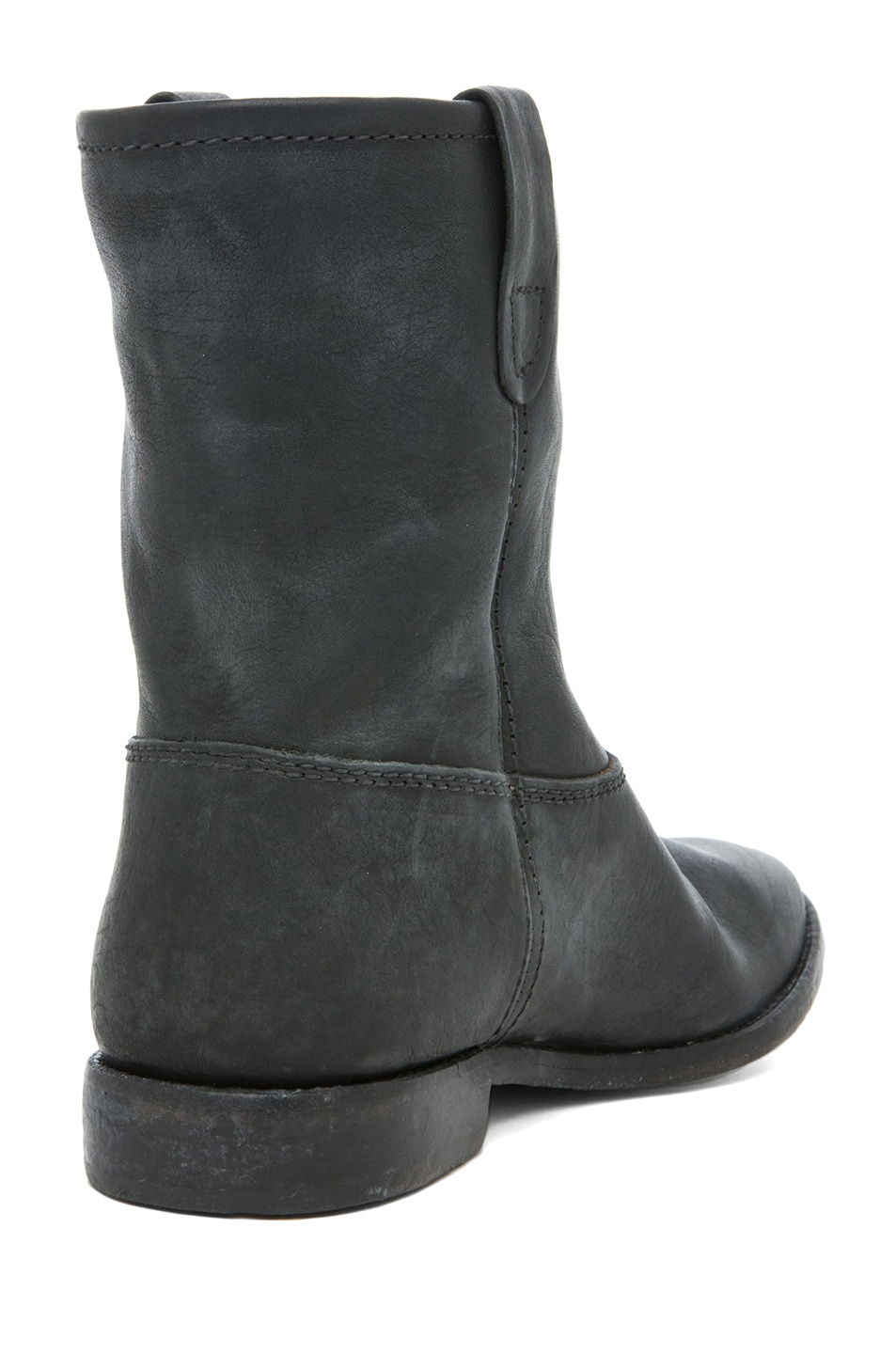 Image 3 of Isabel Marant Jenny Calfskin Leather Boot in Noir