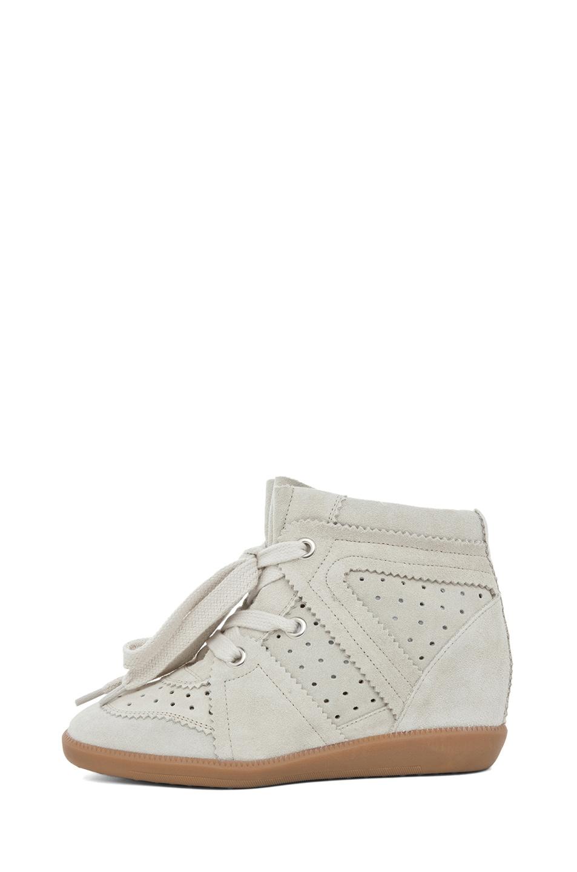 Image 1 of Isabel Marant Bobby Sneaker in Craie