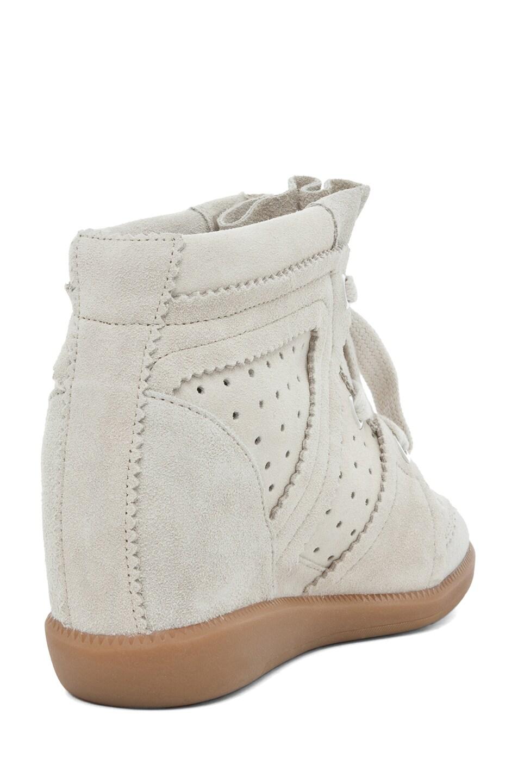 Image 3 of Isabel Marant Bobby Sneaker in Craie