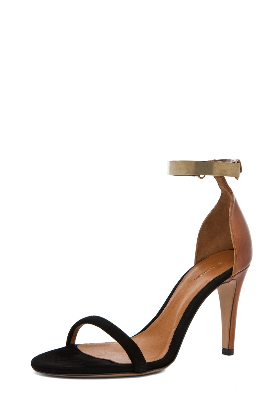 Image 2 of Isabel Marant Adele Heel in Black