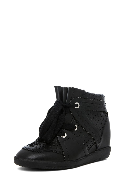 Image 2 of Isabel Marant Baya Sneaker in Noir