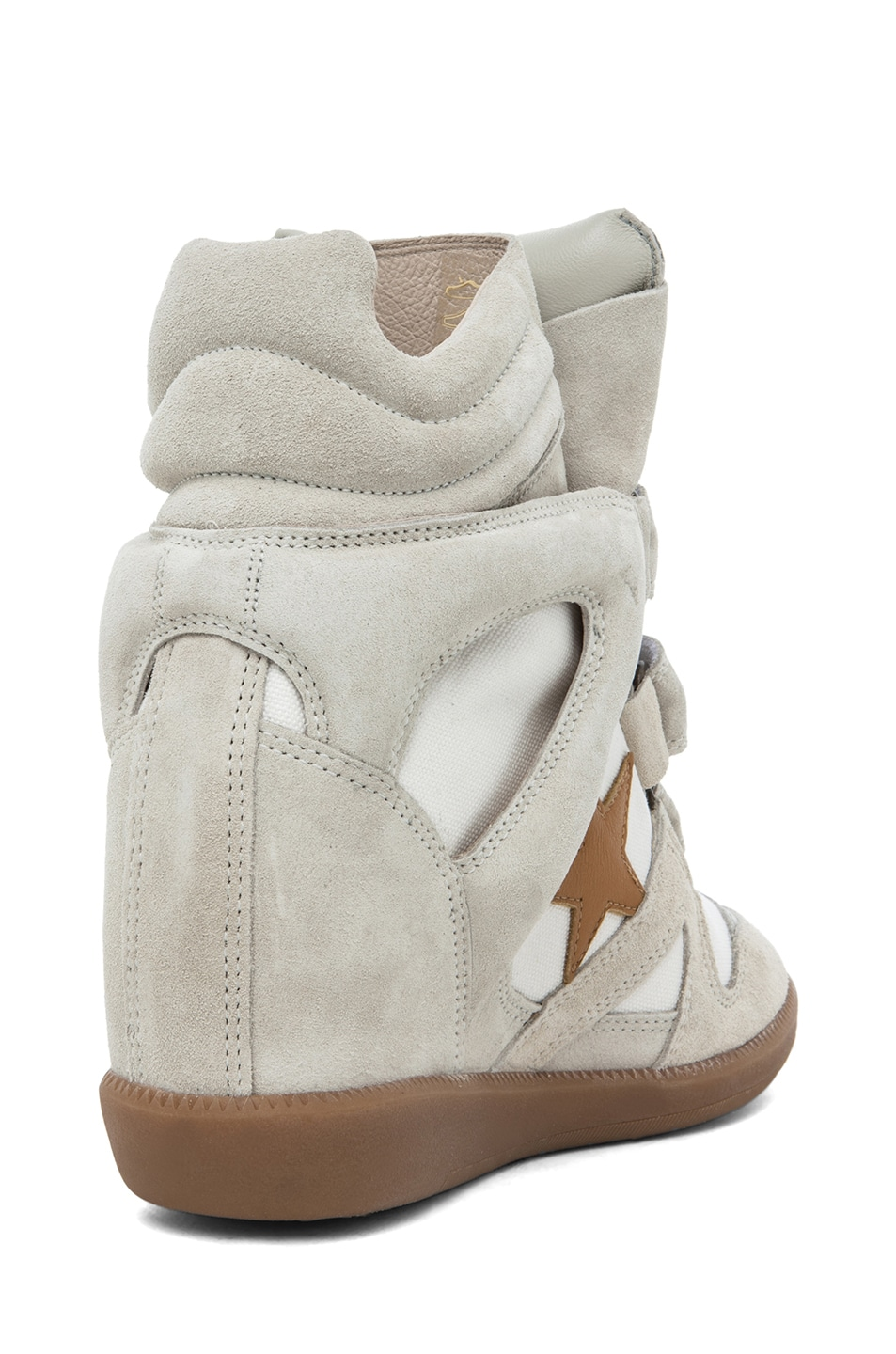 Image 3 of Isabel Marant Bayley Sneaker in Craie