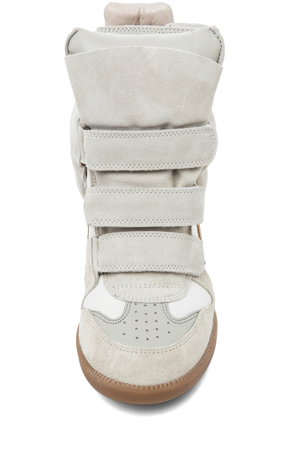 Image 4 of Isabel Marant Bayley Sneaker in Craie