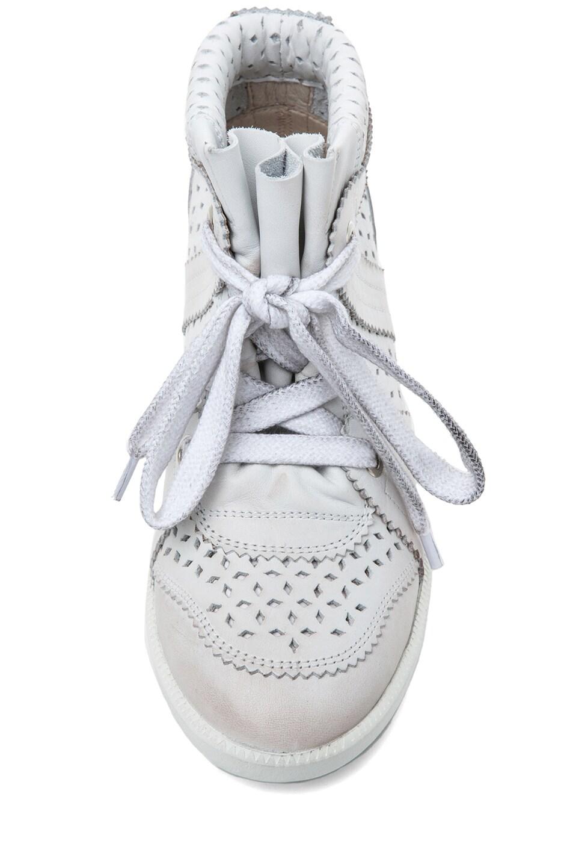 Image 4 of Isabel Marant Baya Sneaker in Craie