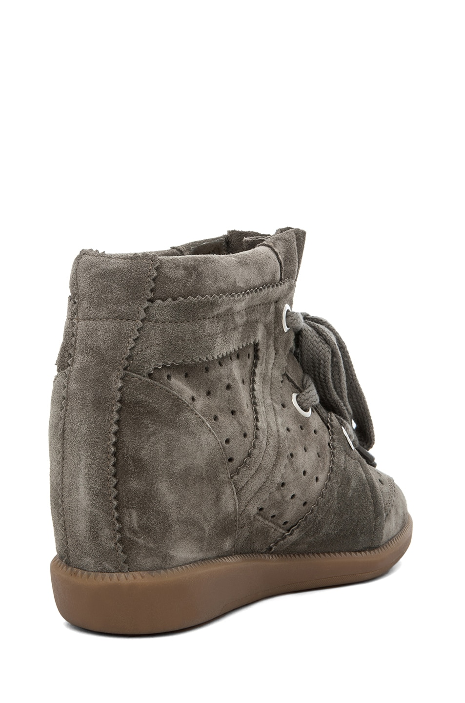 Image 3 of Isabel Marant Bobby Sneaker in Gris