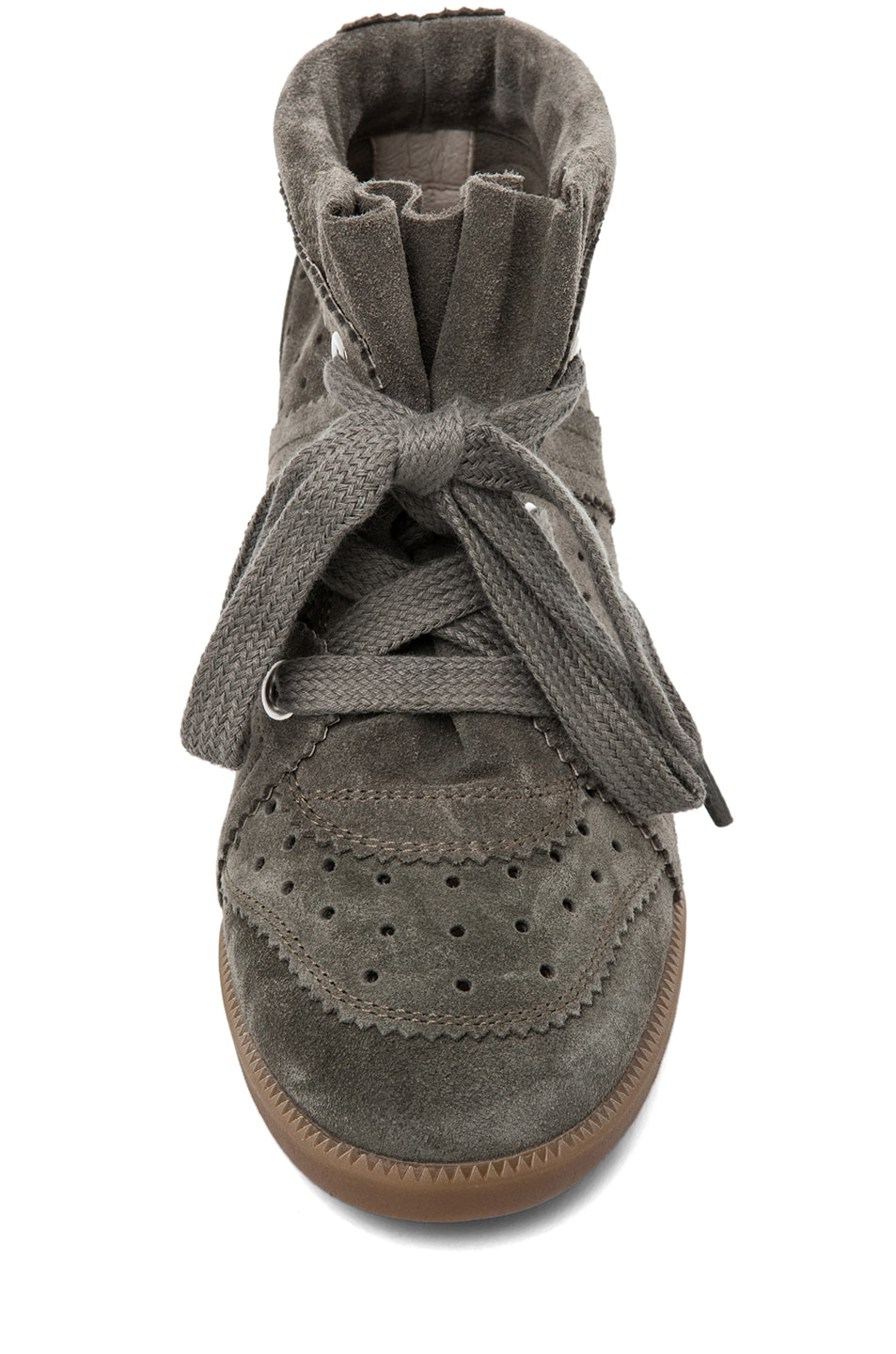 Image 4 of Isabel Marant Bobby Sneaker in Gris