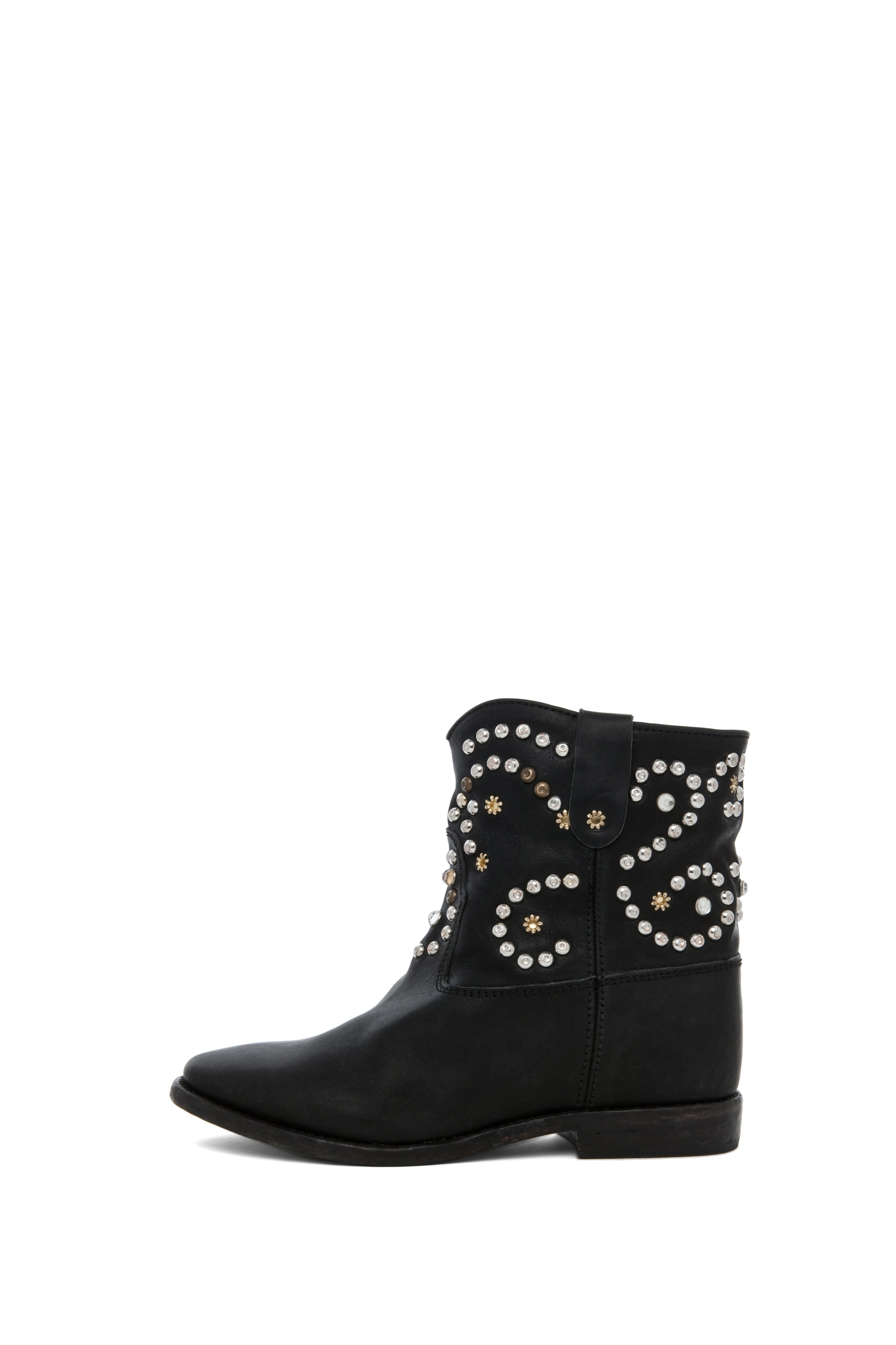 Image 1 of Isabel Marant Caleen Studded Bootie in Black