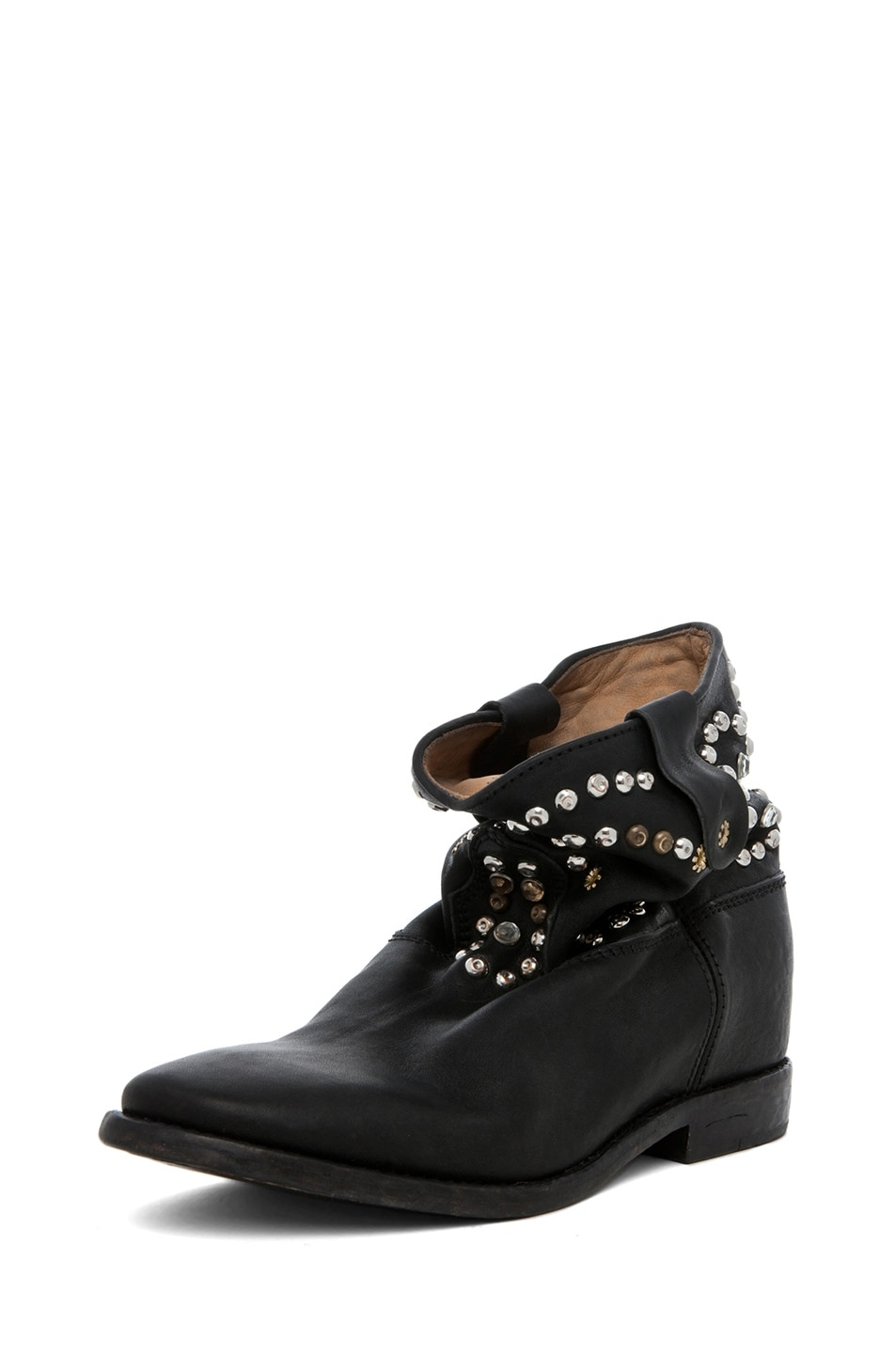 Image 2 of Isabel Marant Caleen Studded Bootie in Black